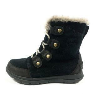 Sorel Explorer Joan Waterproof Winter Ankle Boots